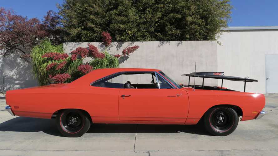 This Plymouth Road Runner can easily outrun Wile E. Coyote
