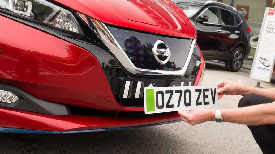 Third of drivers don't know what green number plates represent