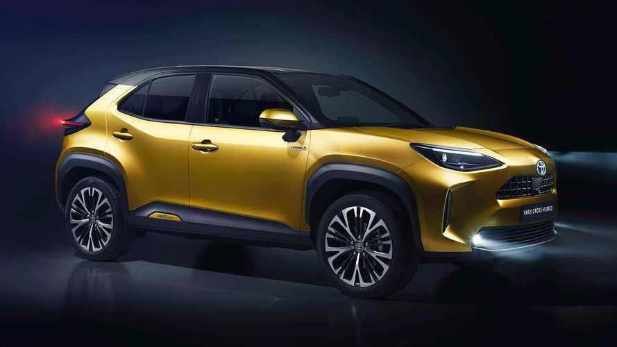 El nuevo Toyota Yaris Cross 2021 se deja ver en Madrid