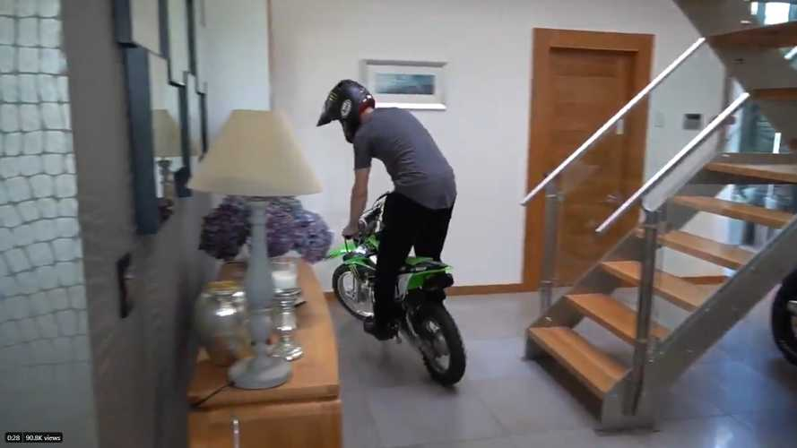 Watch 5-Time WSBK Champion Jonathan Rea Get His Riding Fix