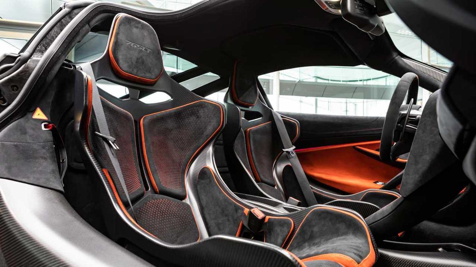 McLaren 765LT interior