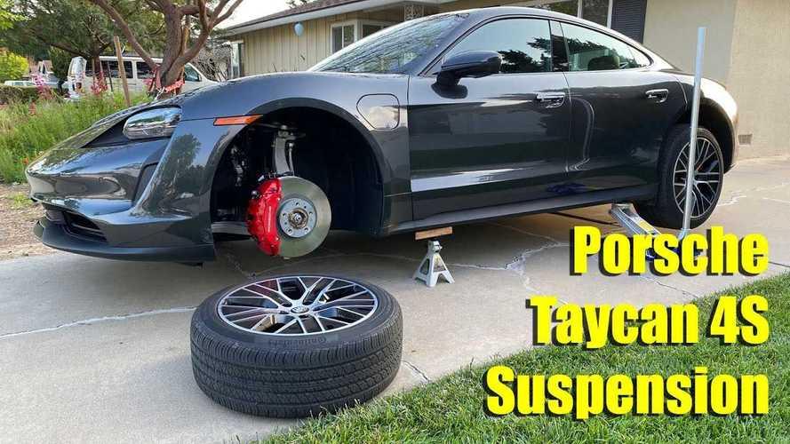 Porsche Taycan Suspension Is Designed For Amazing Handling