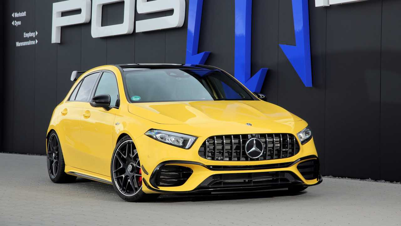 Posaidon Mercedes-AMG A45 With 518 HP