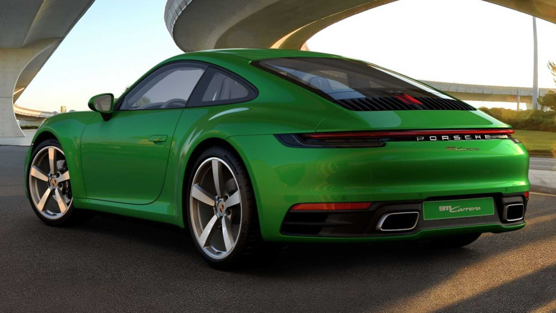 2021 Porsche 911 Gets New Color Retro Leather And More