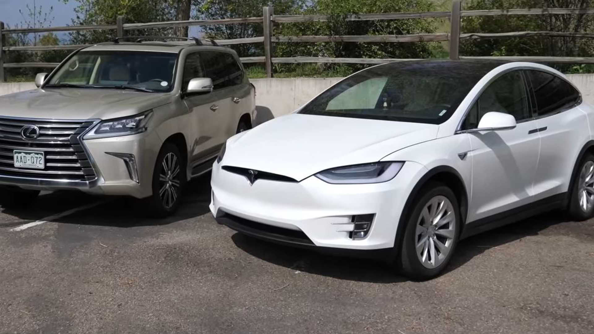 Electric Or Gas Suv For Towing Tesla Model X Vs Lexus Lx