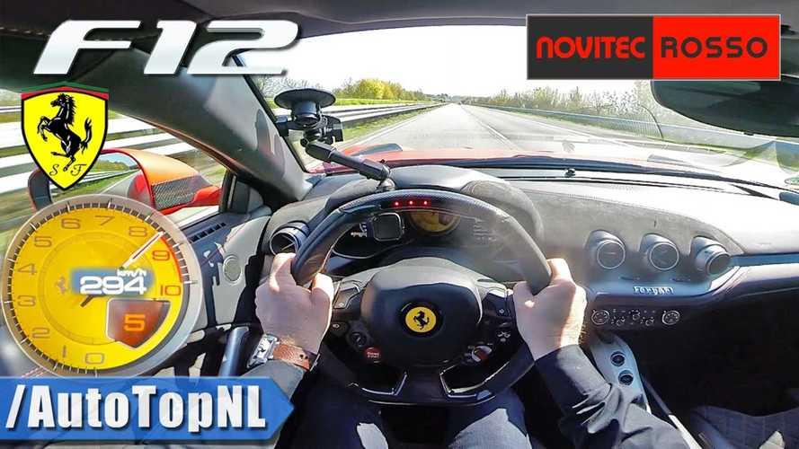 Ezt látni és hallani kell - így repeszt padlógázon a Ferrari F12berlinetta