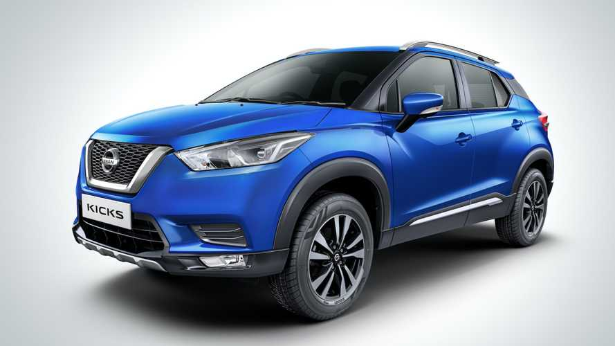 Nissan Kicks ganha motor 1.3 turbo e câmbio CVT na Índia, mas sem o novo visual
