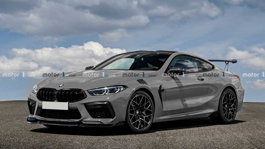 2022 BMW M8 CSL Rendered As Details Emerge About Strange Prototype