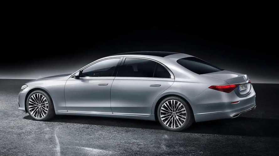 2021 Mercedes-Benz S-Class Rear - 5163029
