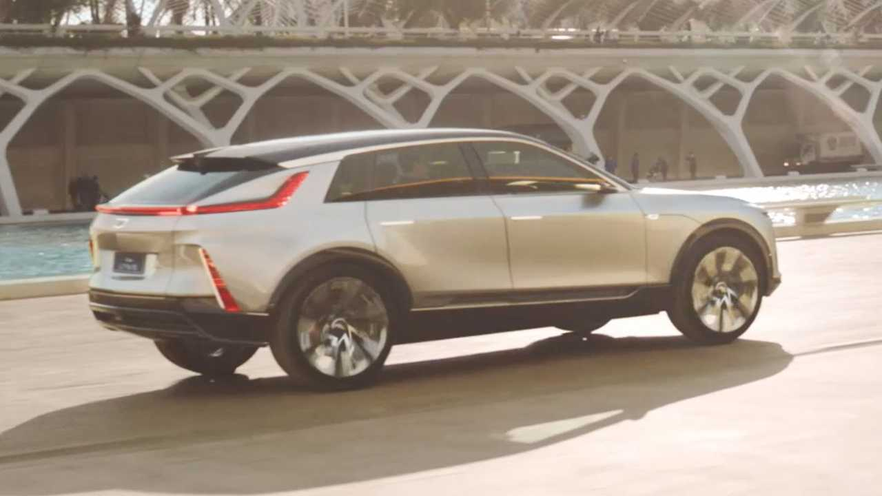 2023 Cadillac Lyriq Rear