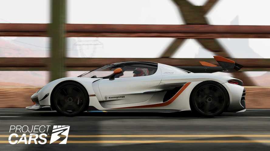 Феноменальный Koenigsegg Jesko нашел себя в виртуальности