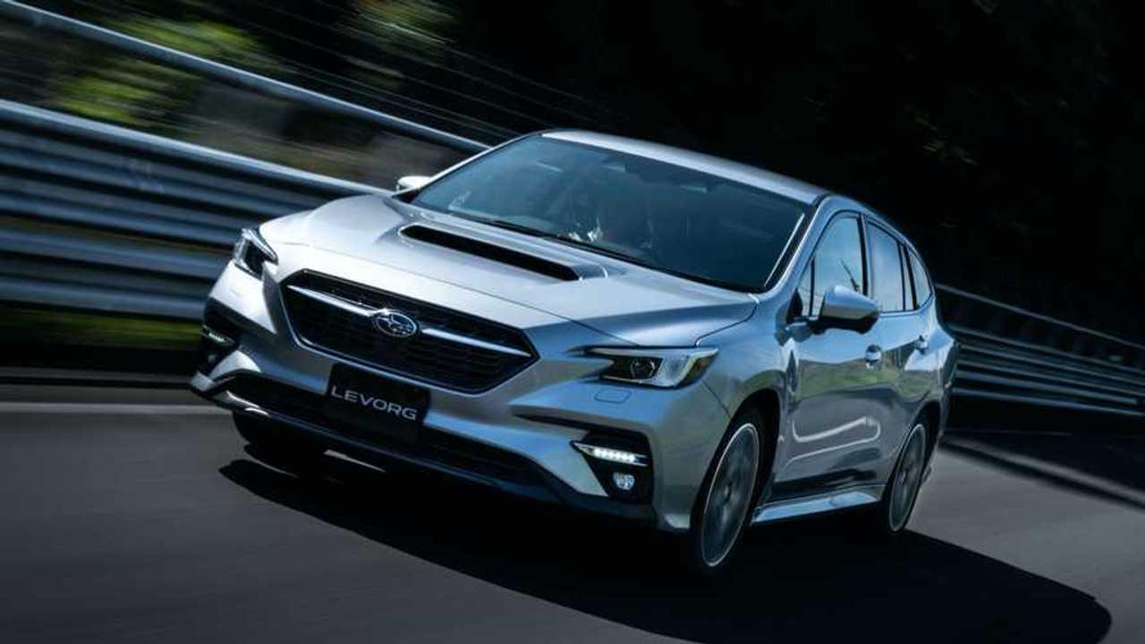2020 Subaru Levorg Üretim Versiyonu