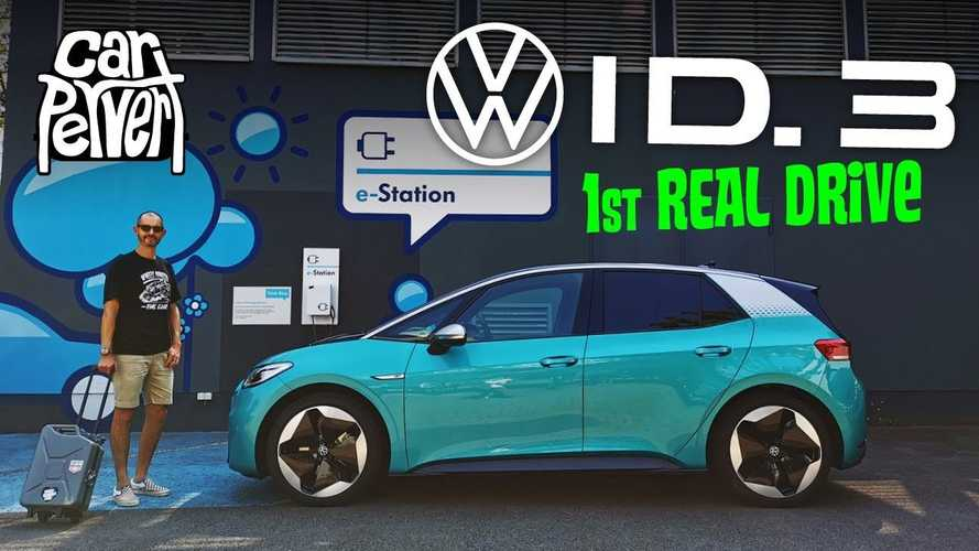 Volkswagen ID.3: First-Drive Review By Jonny Smith