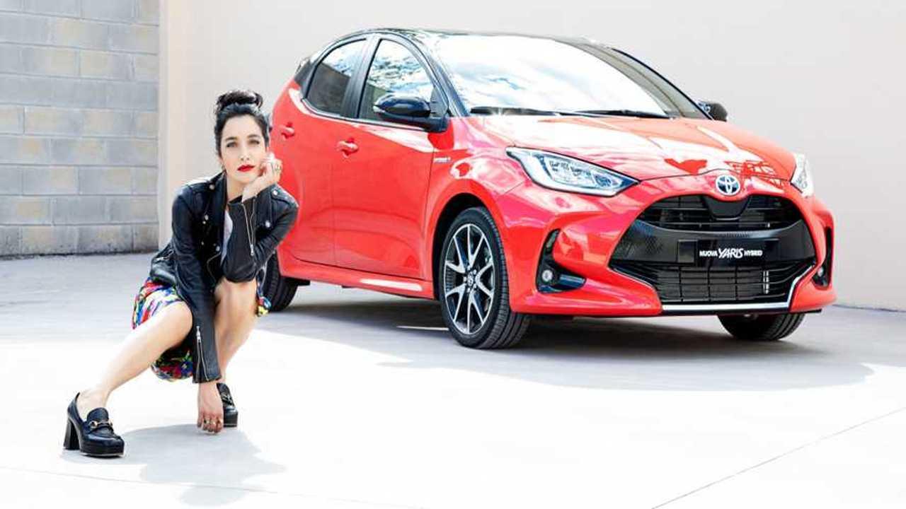 Levante ambassador nuova Toyota Yaris Hybrid