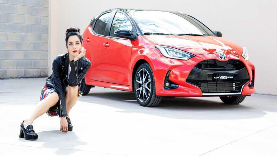 Nuova Toyota Yaris, Levante è la nuova ambassador