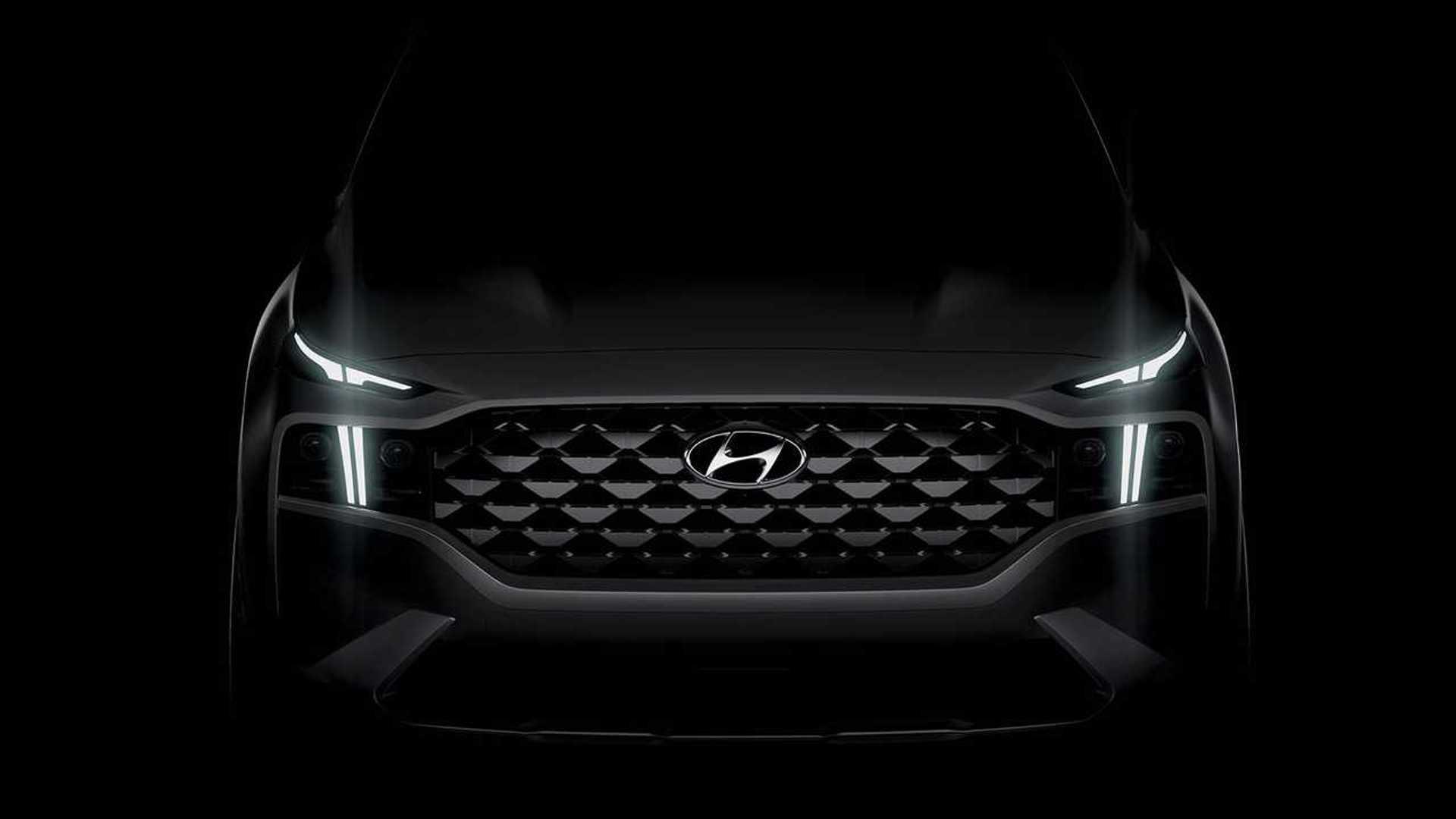 Hyundai Santa Fe 2020: teaser muy suculento
