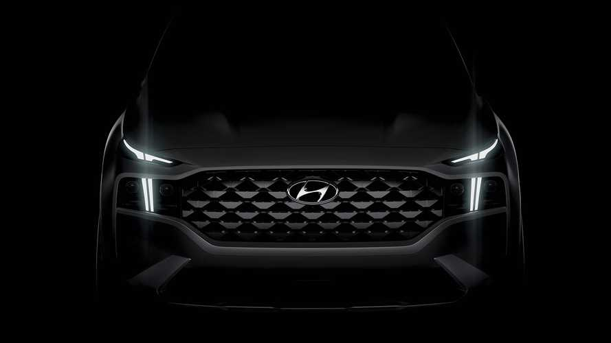 2021 Hyundai Santa Fe teased, but don't call it just a facelift
