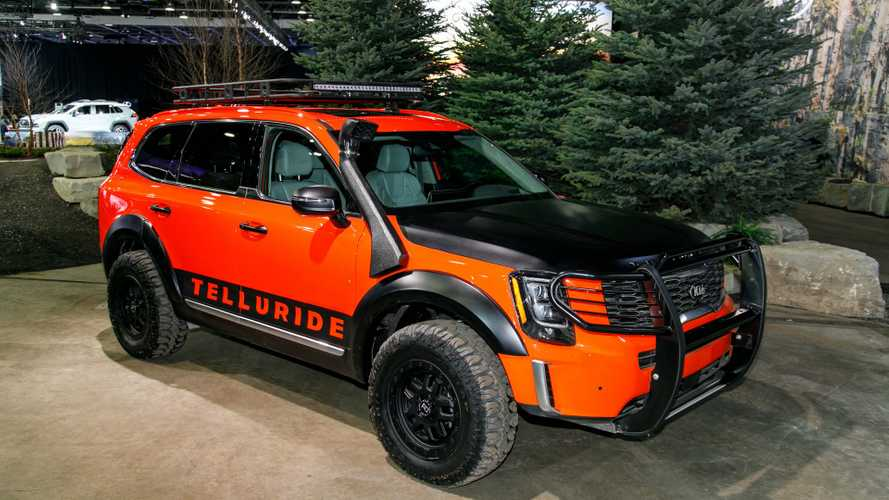2020 Kia Telluride Off-Road Trim Under Consideration