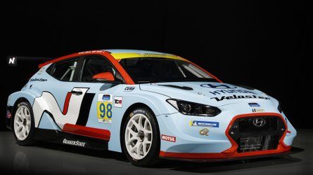 Hyundai Veloster N TCR is track-ready in Detroit with 350 bhp