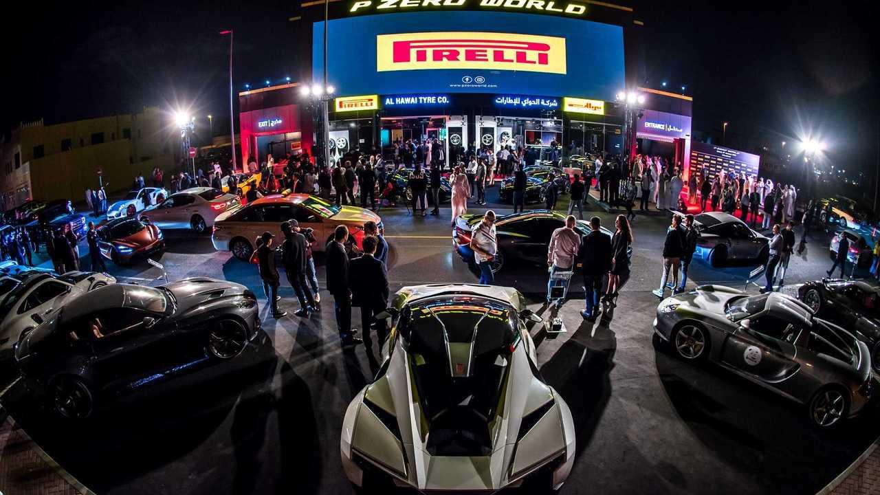 Pirelli P Zero World Dubai
