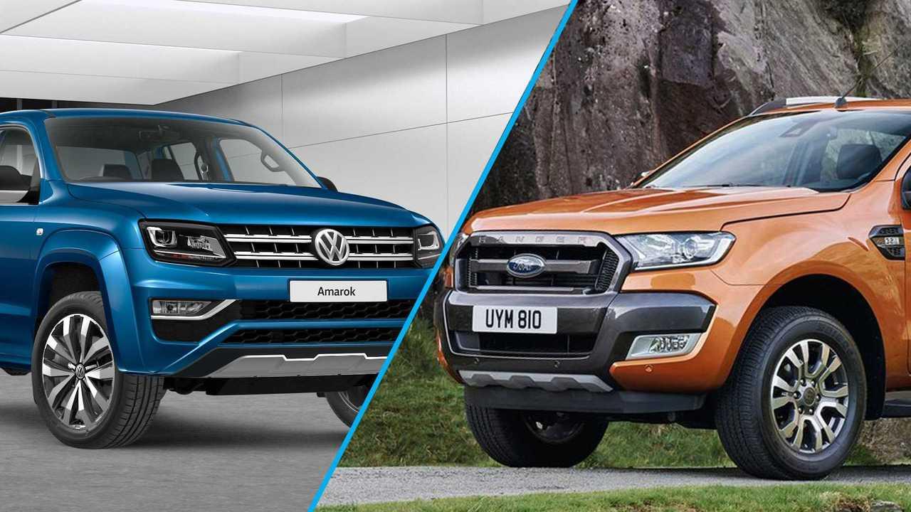 Ford Ranger e Volkswagen Amarok