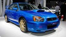 2004 Subaru WRX STI 2019 Detroit Auto Show