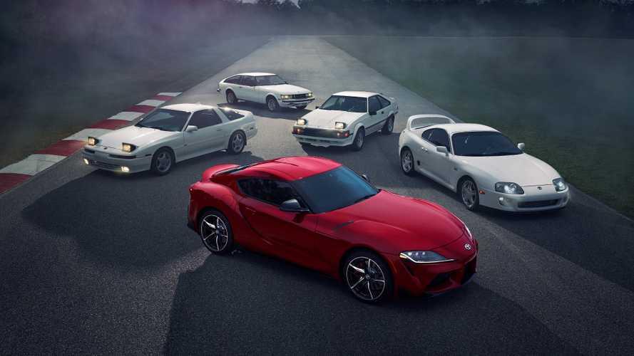 DIAPORAMA - L'histoire de la Toyota Supra en images