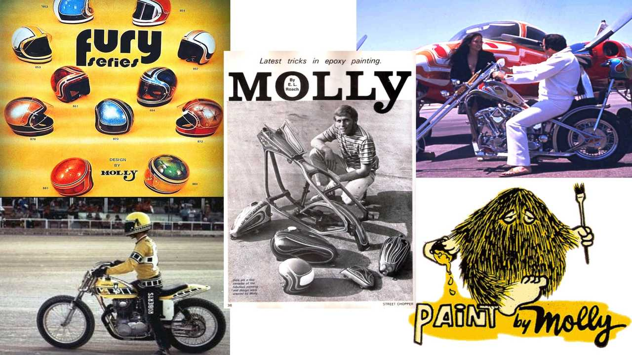 Helmets, Choppers, Planes, and Motorcycles by Molly