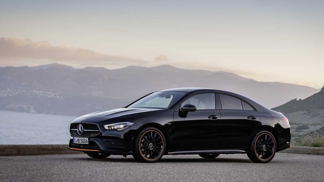 New Mercedes CLA