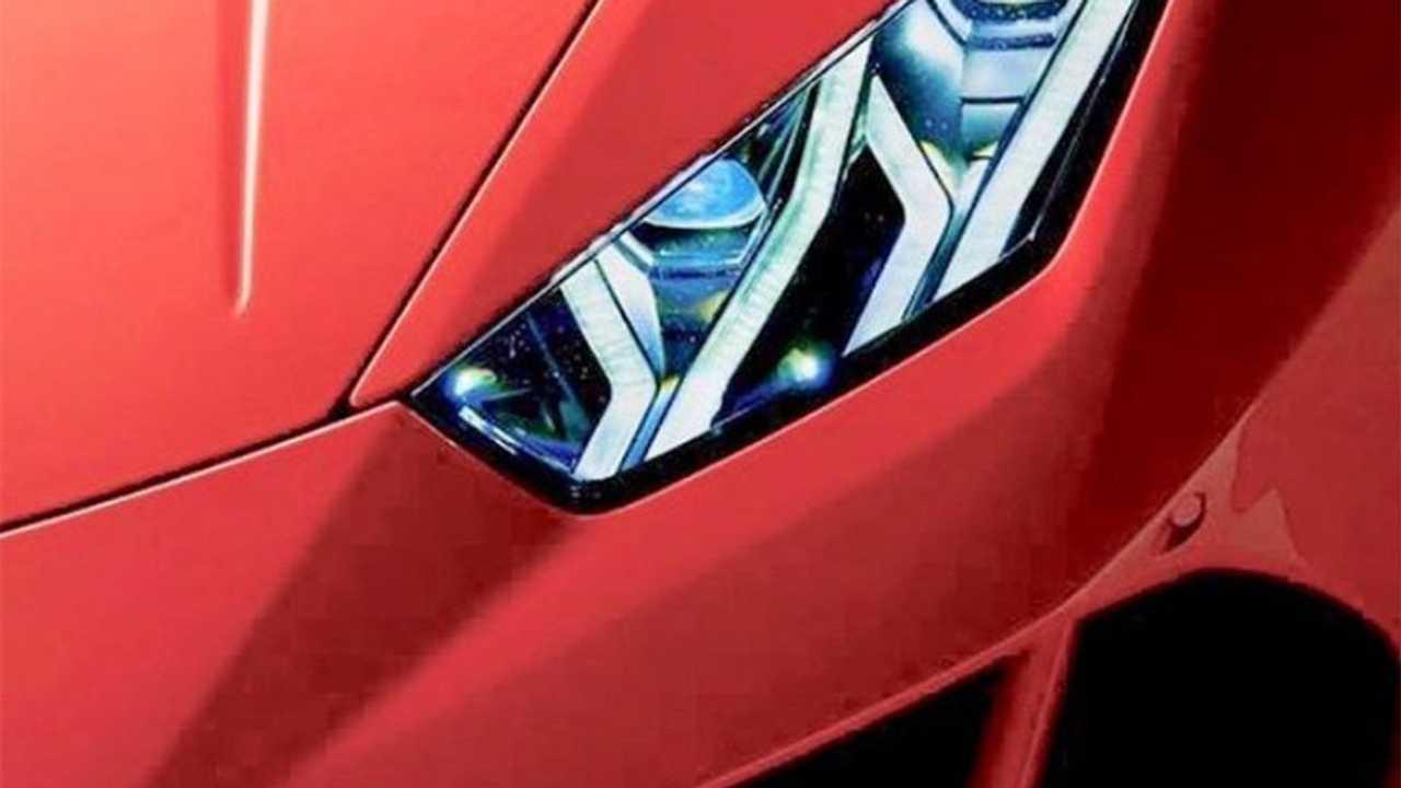 Teaser Lamborghini Huracan restylée