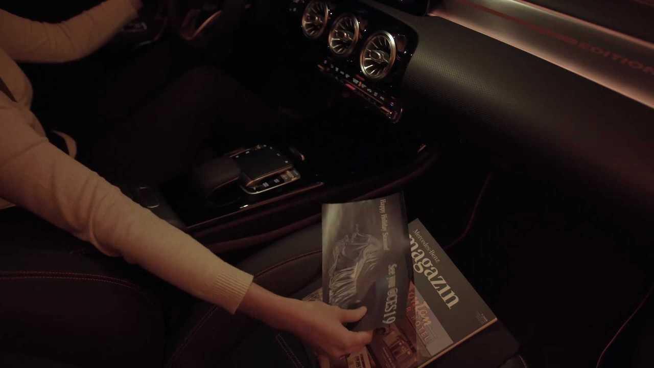 2020 Mercedes CLA interior teaser