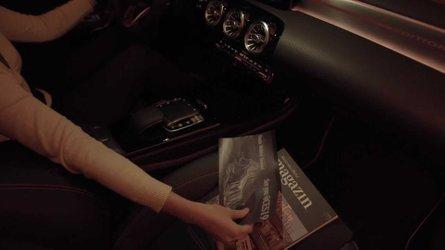 Nuova Mercedes CLA, la luce di cortesia è automatica