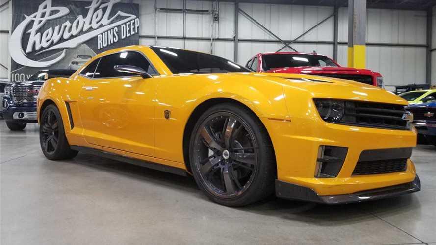 Quatre Chevrolet Camaro des films Transformers sont à vendre