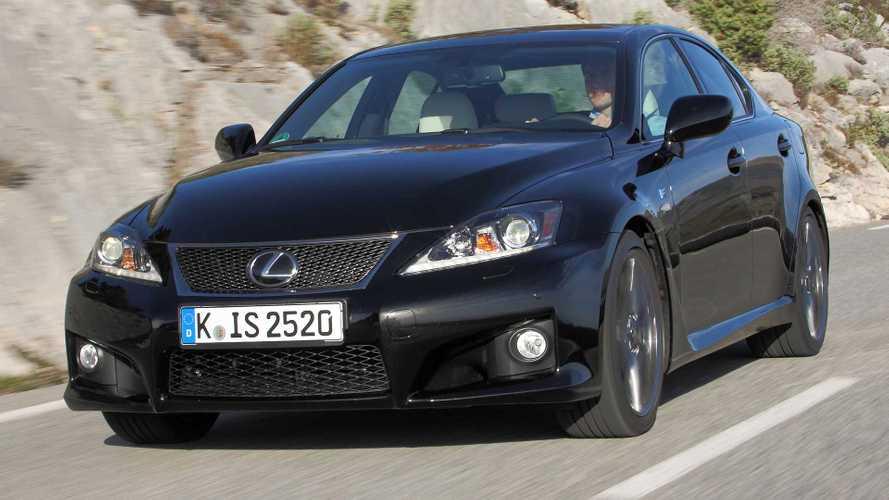 Yeni Lexus IS F 2022'de LS'in V6 hibrit motoruyla gelebilir