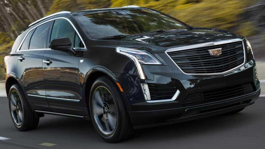 Cadillac XT5 в версии Sport перешёл на тёмную сторону