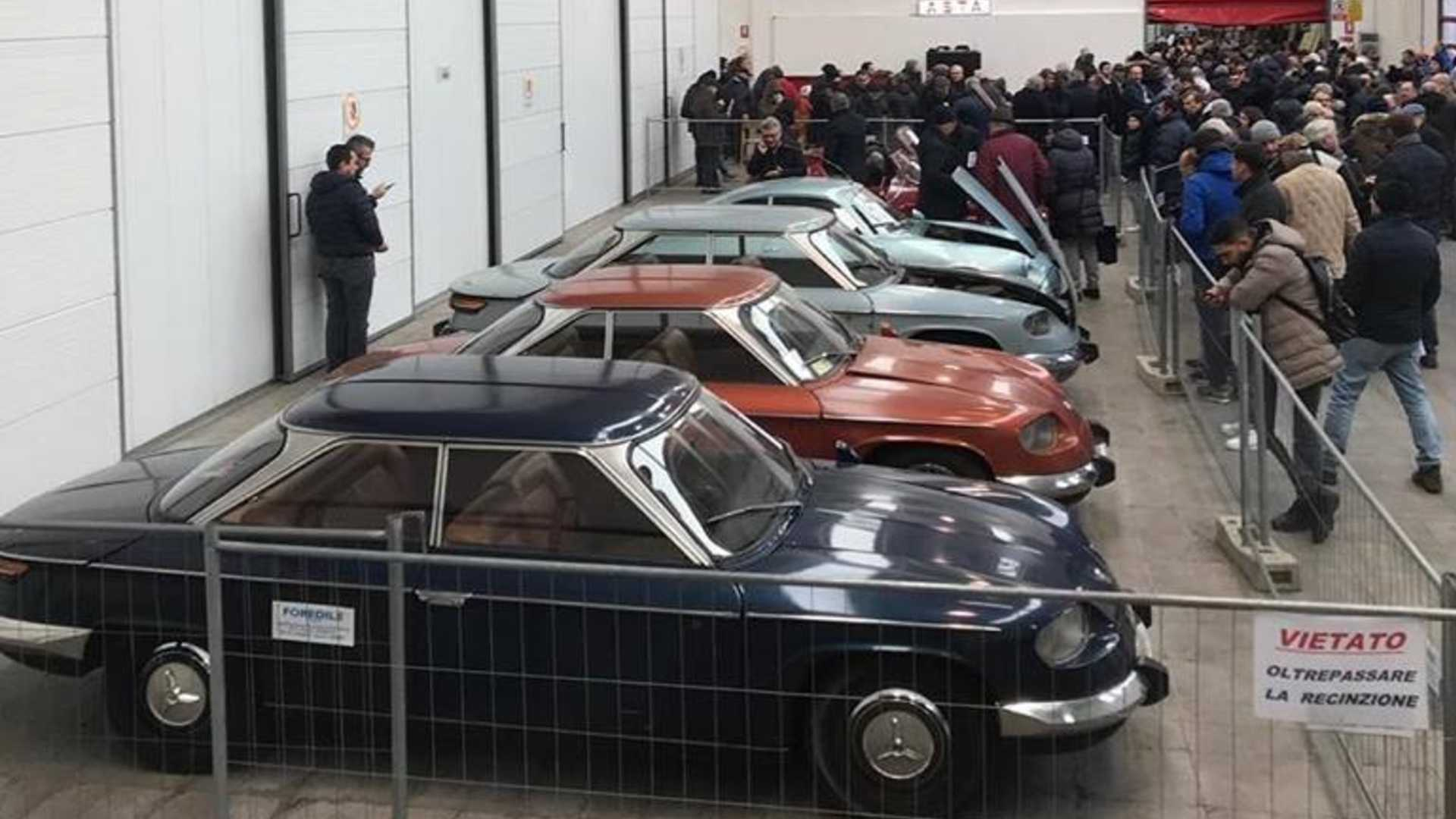 "[""Alfa Romeo rescued from Turin garage""]"