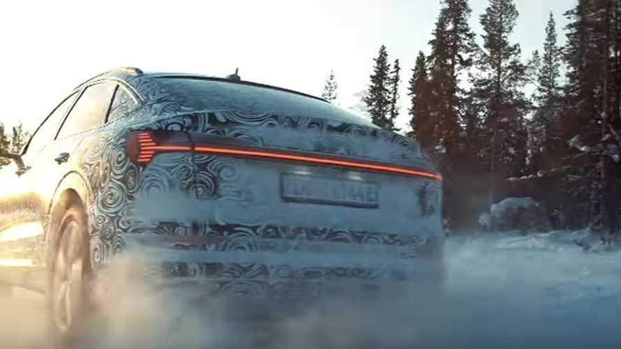 Audi, e-tron Sportback'in testlerine ait kısa bir video paylaştı