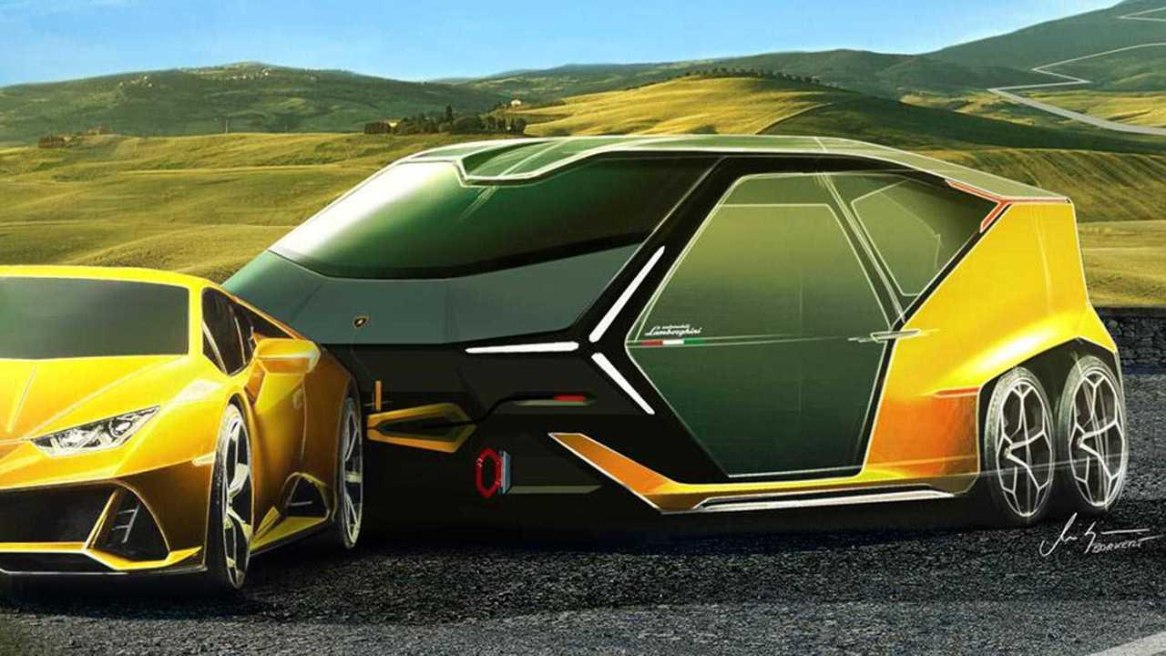 Lamborghini Camper April Fool's