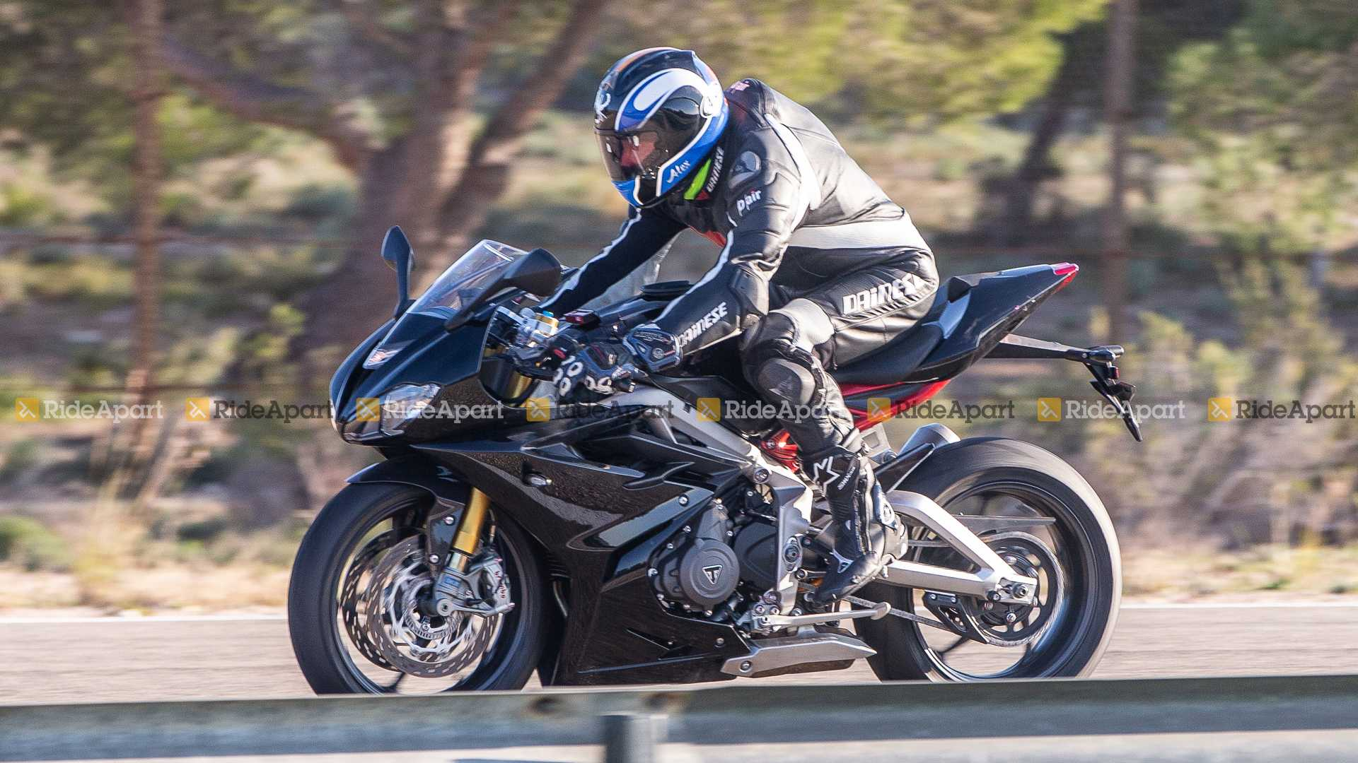 Spotted New Triumph Daytona 765 Undergoes Testing In Spain