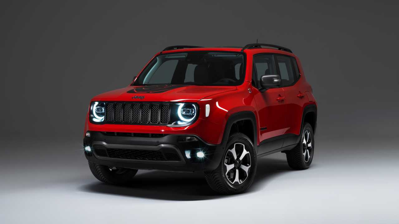 2019 Jeep Renegade plug-in ibrido