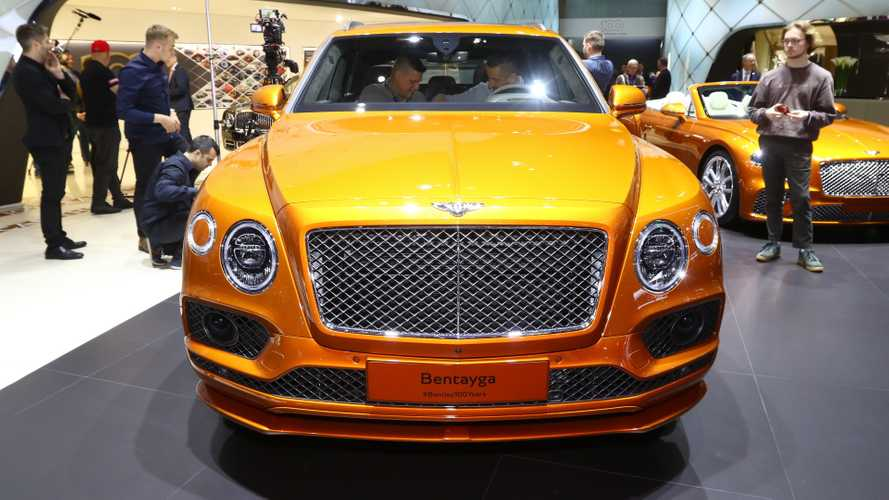 Bentley Bentayga Speed at the 2019 Geneva Motor Show
