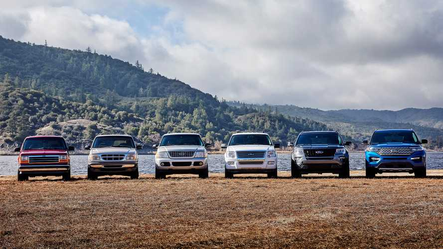 Explore The Ford Explorer's 6-Generation Lineage