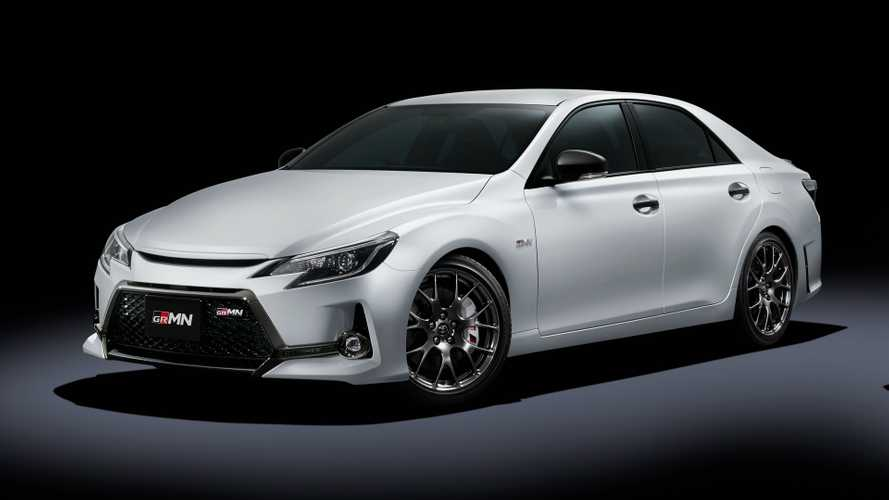 Toyota Mark X revealed: Naturally aspirated V6, manual gearbox