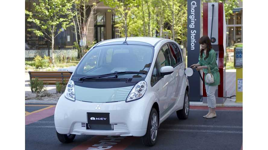 Mitsubishi Electric Vehicle Sales Down 20% in Japan