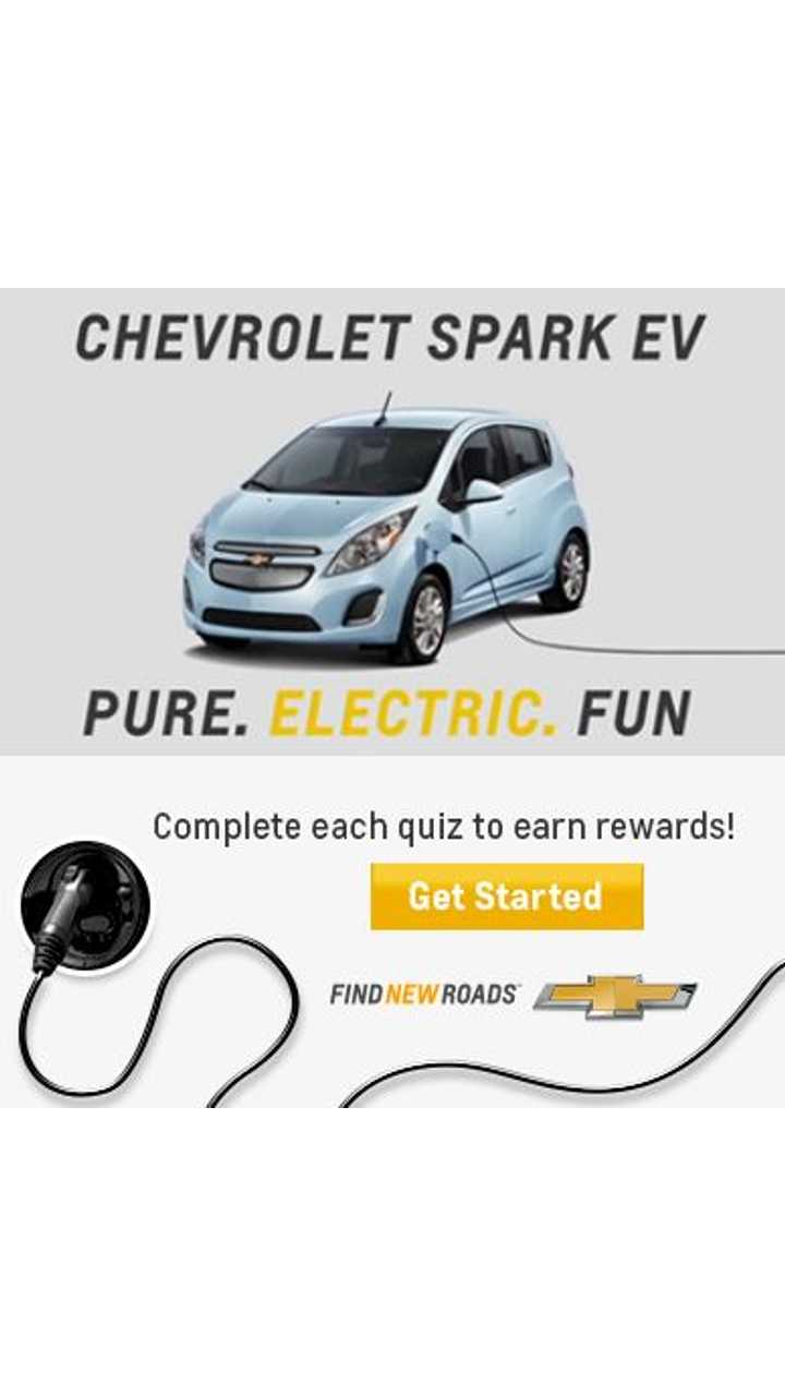 Show Off Your Chevy Spark EV Knowledge For a Chance to Win a Trip to California