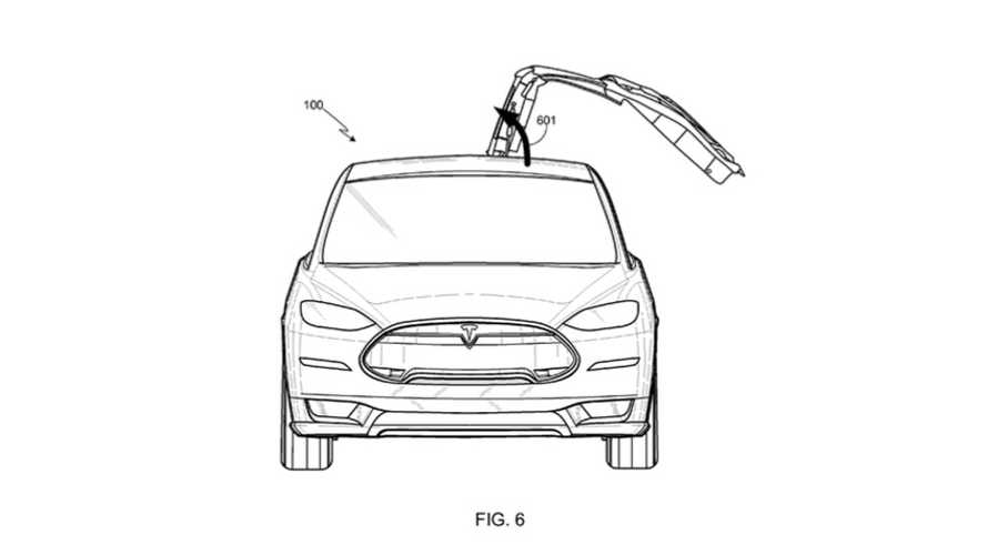 Patent Filing Confirms Production Tesla Model X Will Have Falcon Doors