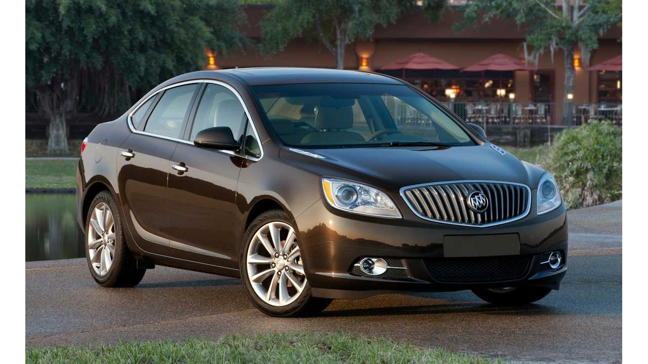 Buick Verano Almost Scores as Well as Model S