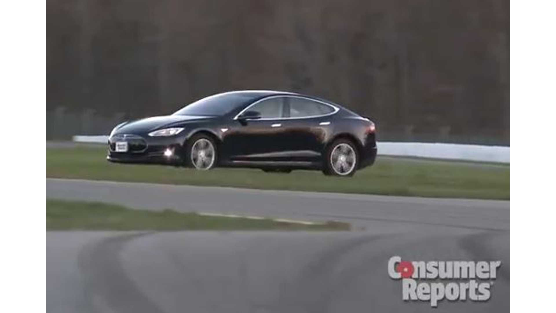 Consumer Reports Road Trip Proves That Tesla Model S is