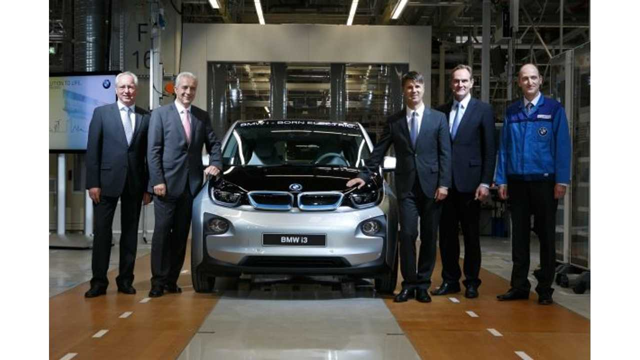 Production of BMW i3 Now Officially Underway