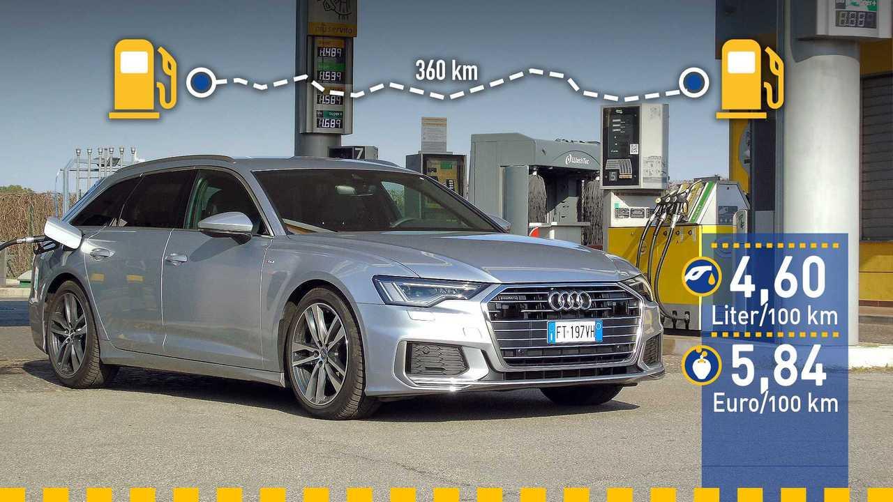 Audi A6 Avant Verbrauchstest